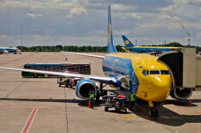 Ukraine International Airlines is the main local carrier of Boryspil International Kyiv Airport