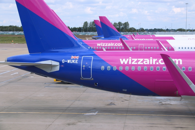 Kyiv Zhuliany Airport is a focus city for Wizz Air.